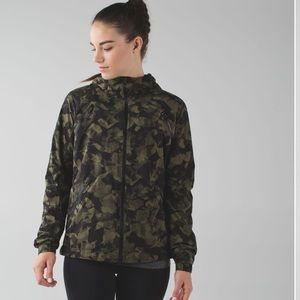 Lululemon Camo Rise & Shine Jacket II
